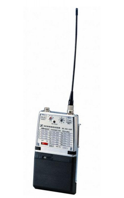 SK250-UHF-C - High-powered 250mW UHF bodypack transmitter, requi