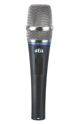PR22-SUT - PR Series Professional Dynamic Handheld Mic with Switch (Utility Packaging Option)