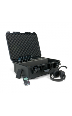 DWS COM 6 PRO - Digi-Wave Series Wireless Intercom System w/ MIC 068 Dual Muff Headsets