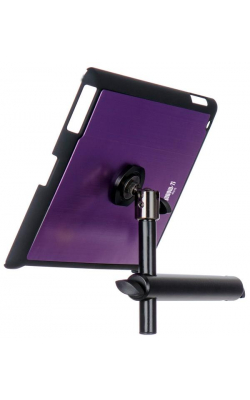 TCM9160P - iPad® Snap-On™ Cover w/ Mounting Bar, Purple