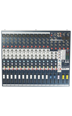 EFX12 - EFX Series 12+2-Channel Mixer with Lexicon FX and Rackmount Kit