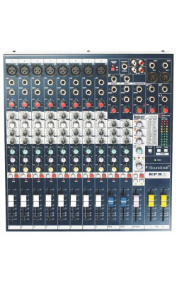EFX8 - EFX Series 8+2-Channel Mixer with Lexicon FX