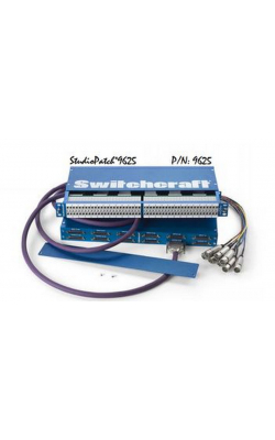 9625 - StudioPatch® Series Bantam / TT Audio Patchbay (96 points to DB25)