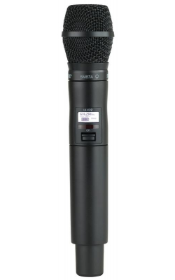 ULXD2/SM87-J50 - ULX-D Series Handheld Transmitter with SM87A Cartridge (J50 band)
