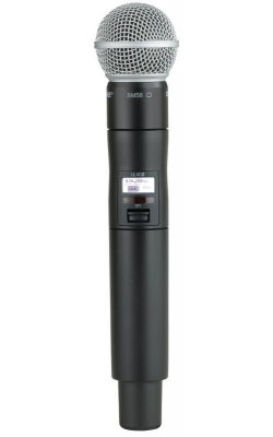 ULXD2/SM58=G50 - ULX-D Series Handheld Transmitter with SM58 Cartridge (G50 band)