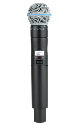 ULXD2/B58=-G50 - ULX-D Series Handheld Transmitter with BETA 58A Cartridge (G50 band)