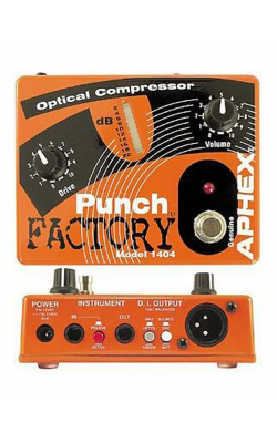 PUNCH FACTORY - Optical Compressor Pedal