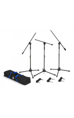BL3VP - Boom Stand & Cable (3-Pack)