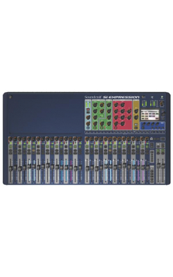 SI EXPRESSION 3 CON - Si Expression Series 36 Channel Digital Mixer