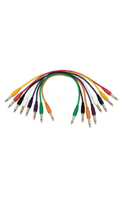 PC18-17QTR-S - Straight Patch Cables (QTR-QTR, 8-pack)