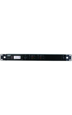 ULXD4D=G50 - ULX-D Series Dual Channel Digital Receiver (G50 band)