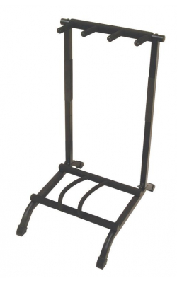 GS7361 - Three-Space Foldable Multi-Guitar Rack