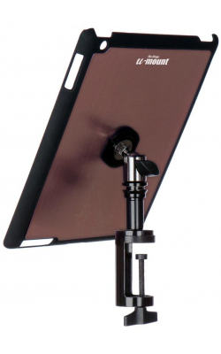 TCM9163M - iPad® Snap-On™ Cover w/ Table Clamp, Mauve
