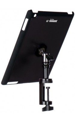 TCM9163B - iPad® Snap-On™ Cover w/ Table Clamp, Black