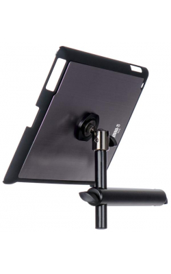 TCM9160GM - iPad® Snap-On™ Cover w/ Mounting Bar, Gun Metal