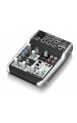 Q502USB - Premium 5-Input 2-Bus Mixer with XENYX Mic Preamp