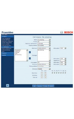 PRS-SW - Praesideo Software (For PRS-NCO-B and PRS-NCO3)