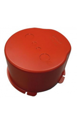 LBC3080/01 - Metal fire dome for LHM0606 (red)