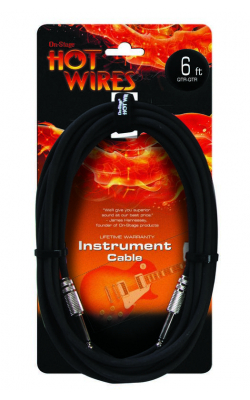 IC-6 - Instrument Cable (QTR-QTR, 6')
