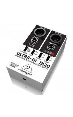 DI20 - Professional Active 2-Channel DI-Box/Splitter
