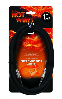IC-10 - Instrument Cable (QTR-QTR, 10')