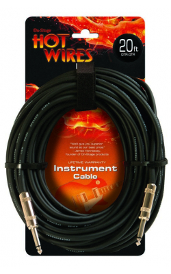 IC-20 - Instrument Cable, Standard (QTR-QTR, 20')