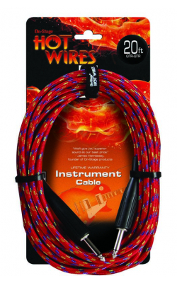 IC-20BR - Instrument Cable, Braided (QTR-QTR, 20')