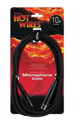 MC12-10 - Microphone Cable (10', XLR-XLR)