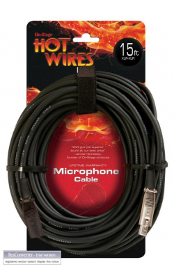 MC12-15 - Microphone Cable (15', XLR-XLR)