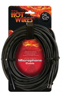 MC12-25HZ - Hi-Z Mic Cable (25', XLR-QTR)