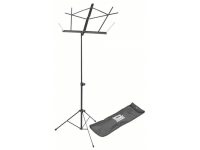 SM7122BB - Compact Sheet Music Stand (Black, with Bag)