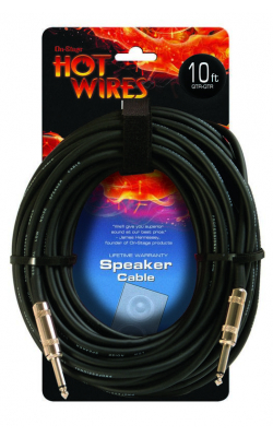 SP14-10 - Speaker Cable (10', QTR-QTR)