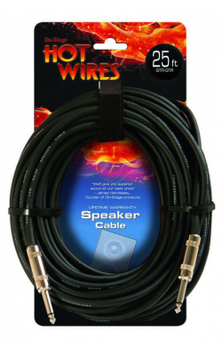 SP14-25 - Speaker Cable (25', QTR-QTR)