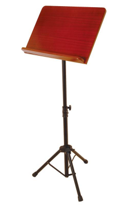 SM7311W - Pro Music Stand with Rosewood Bookplate