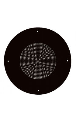 "62-8-052 - General Purpose 8"" Steel Baffle Black"