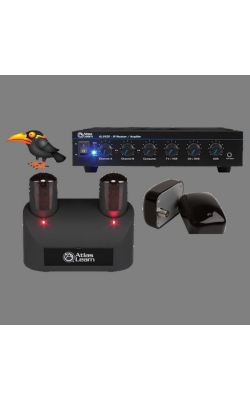 MYNA2-2 - Atlas Learn Dual MYNA Wireless Mic and Dual IR Dom