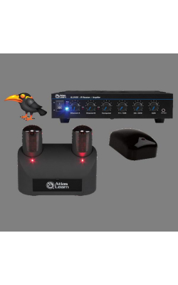 MYNA2-1 - Atlas Learn Dual MYNA Wireless Mic and Single IR D