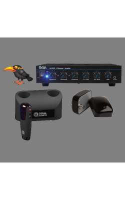 MYNA1-2 - Atlas Learn Single MYNA Wireless Mic and Dual IR D