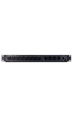 AH-AR2-84-BLK - 8 x 4 Remote AudioRack, dSNAKE I/O for expansion,