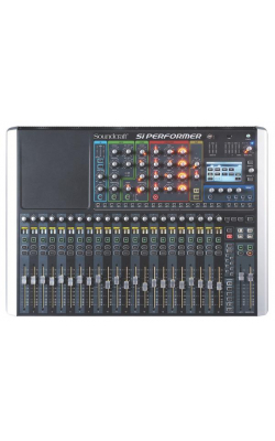 SIPERFORMER2 - Si Performer Series 80ch Digital Mixer w/DMX (24 Mic Pres)