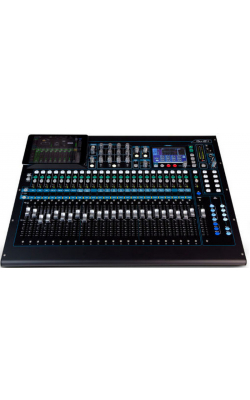 AH-QU-24C - 24 channel digital, 24 Mic/Line + 3 stereo, 100mm
