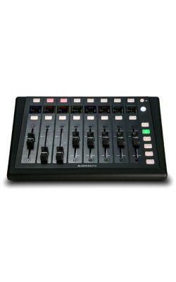 AH-IP-8 - 8 motorized fader controller, PoE+ powered, includ