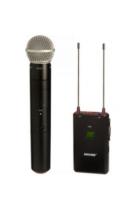 FP25/SM58-G4 - Includes FP2 Handheld SM58 ® Microphone and FP5 Po