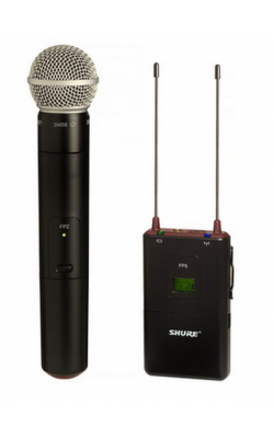 FP2/SM58=-G4 - Handheld Transmitter with SM58® Cardioid Micropho