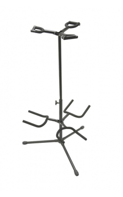 GS7321BT - Deluxe Folding Triple Guitar Stand