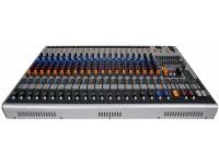 XR1220 POWERED MIXER - XR Series Console Style 20 Channel Powered Mixer