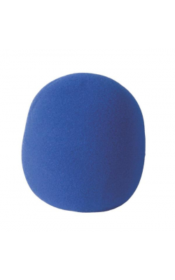 ASWS58-BL - Foam Windscreen (Blue)