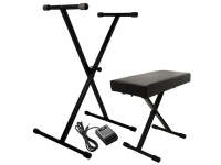 KPK6520 BB - Keyboard Stand/Bench Pak with Sustain Pedal