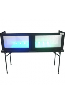 GS-LS1658TB - White Lycra Table Top DJ Façade for AT-6022 DJ Table
