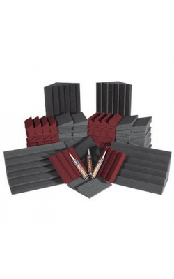 ROOMADCHABUR - Alpha DST Series Roominator Kit (68 pieces, Charcoal, Burgundy)